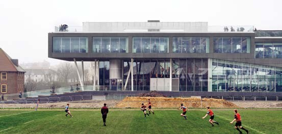 School of science & sports at Brighton College: OMA
